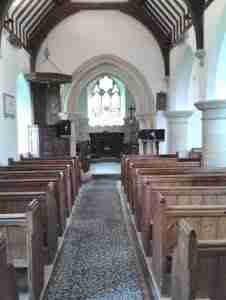 Inside St Mary Codford