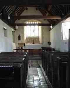 Inside St James Tytherington