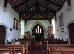 Inside Upton Lovell Church